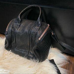 ALEXANDER WANG Pebbled Lambskin Mini Rockie Bag